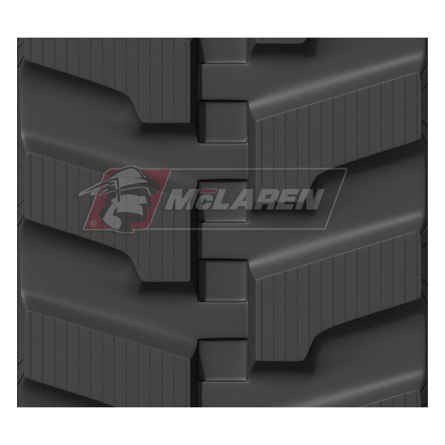 Maximizer rubber track for Airman AX 30 U-4 (86 links, 300 mm wide)